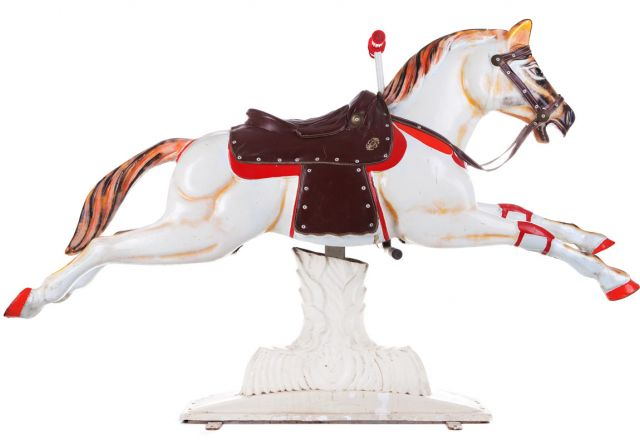 carousel horse from a merry go round