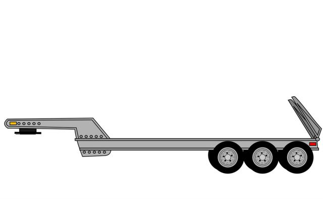 drop deck trailer hire