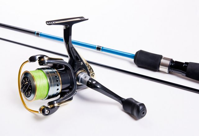 fishing gear and fishing rod hire