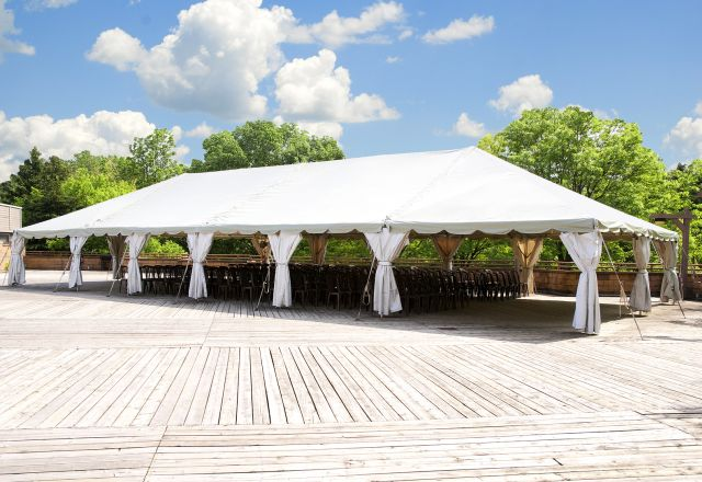 large outdoor marquee